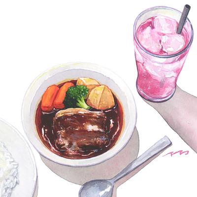 うしろむき夕食店3