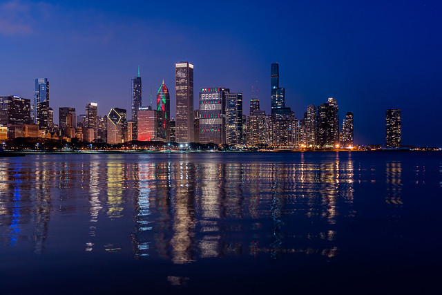 Chicago Holiday Skyline 2020 | Peace and Joy