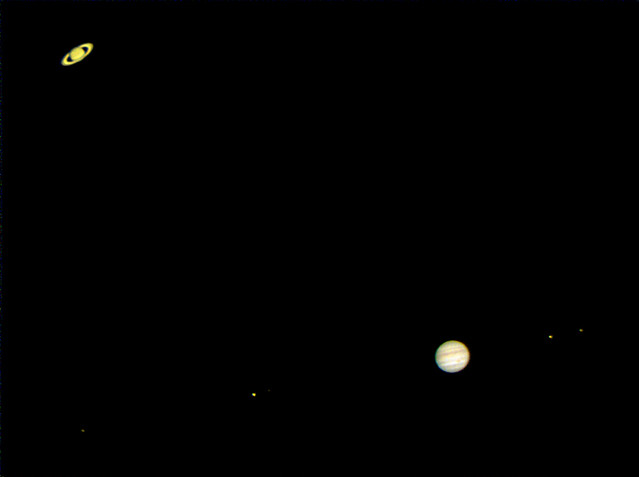 Jupiter and Saturn, Great Conjunction, 2020-12-20