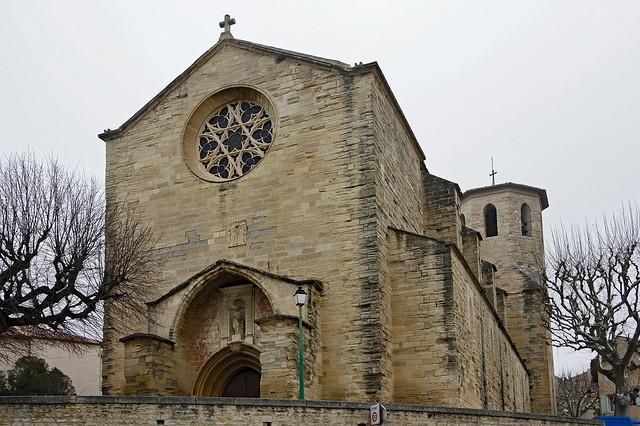 Caromb (Vaucluse) : église Saint-Maurice