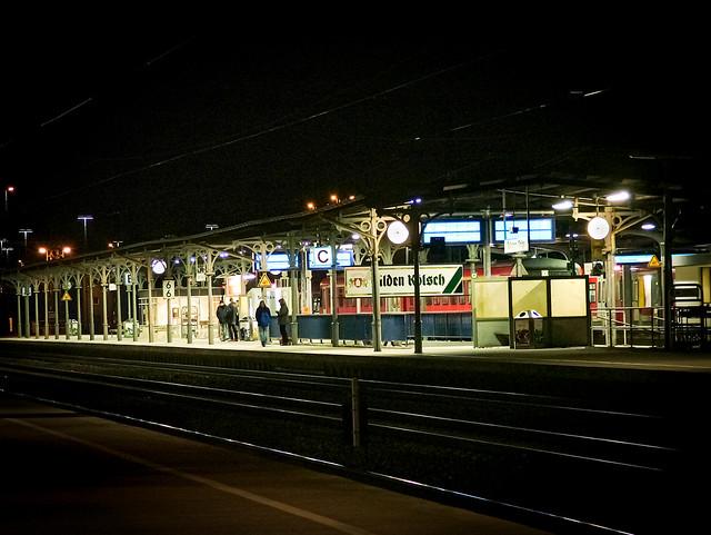 Ohligs Bahnhof Bahnsteig Gleis 3