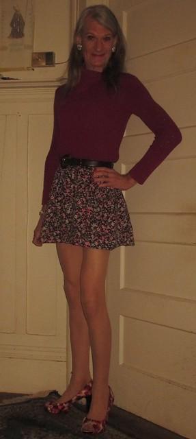 A third sweater, mini, pumps look: #3/?