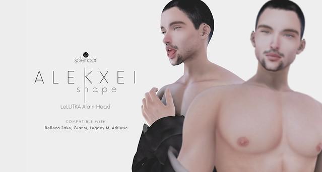 Splendor | Alekxei Bento Shape for LELUTKA Alain Head
