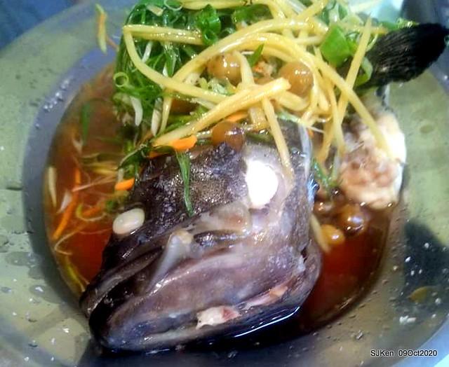 "Chinese Hakka dishes restaurant "" 享佳客家小館"" at Taipei,Taiwan, SJKen, Oct 9,2020."