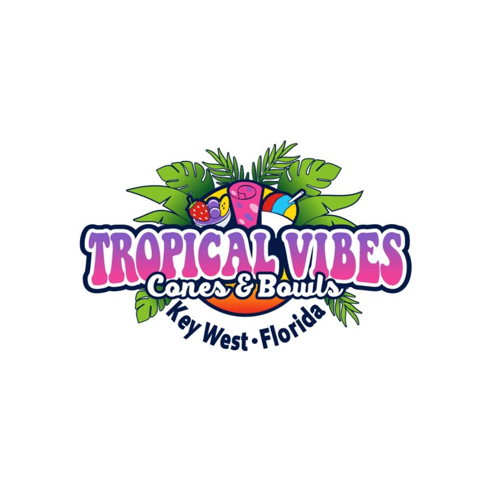 Tropical Vibes Logo Broken Rice Kitchen LLC Tuyen Chau