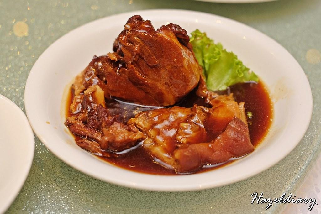 Tien Court Copthorne Kings- Braised Pork Shank