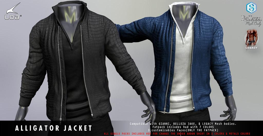 [LOB] ALLIGATOR JACKET – AD