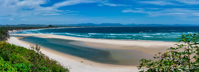 Byron Bay before the storm