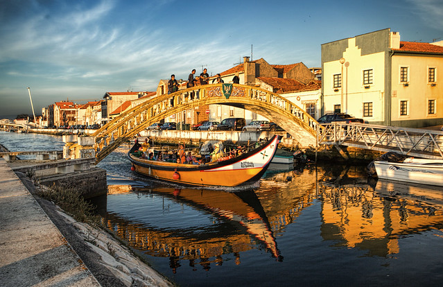 by the channels of Aveiro