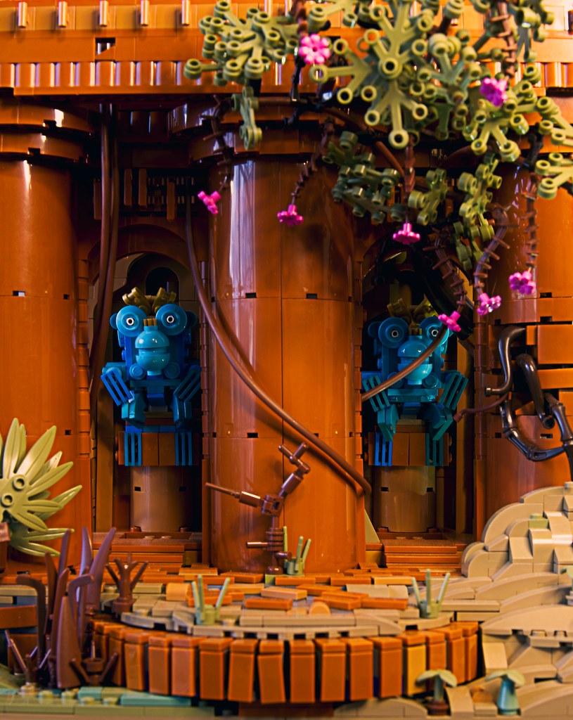 Temple of Twin Monkeys