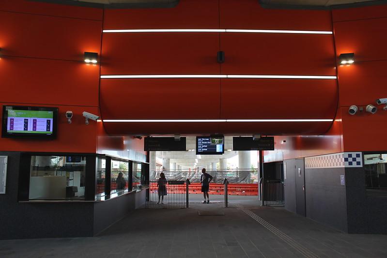 Coburg station concourse