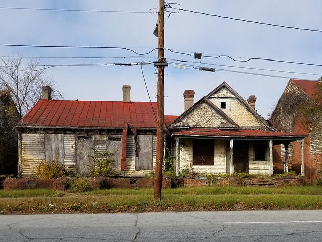 Augusta, GA houses on 7th Street