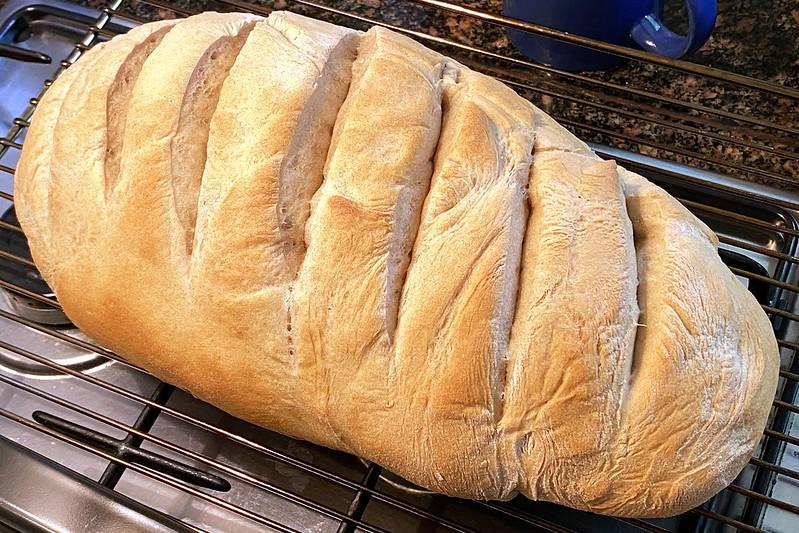 Home baked loaf