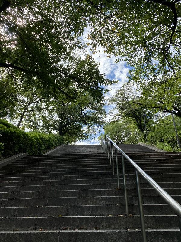 森ノ宮駅から大阪城へ_02