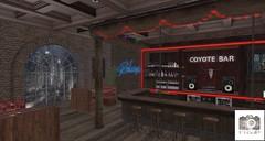 Preview - M-BdP - Coyote Bar Backdrop for La vie en pose - Event - January 2021