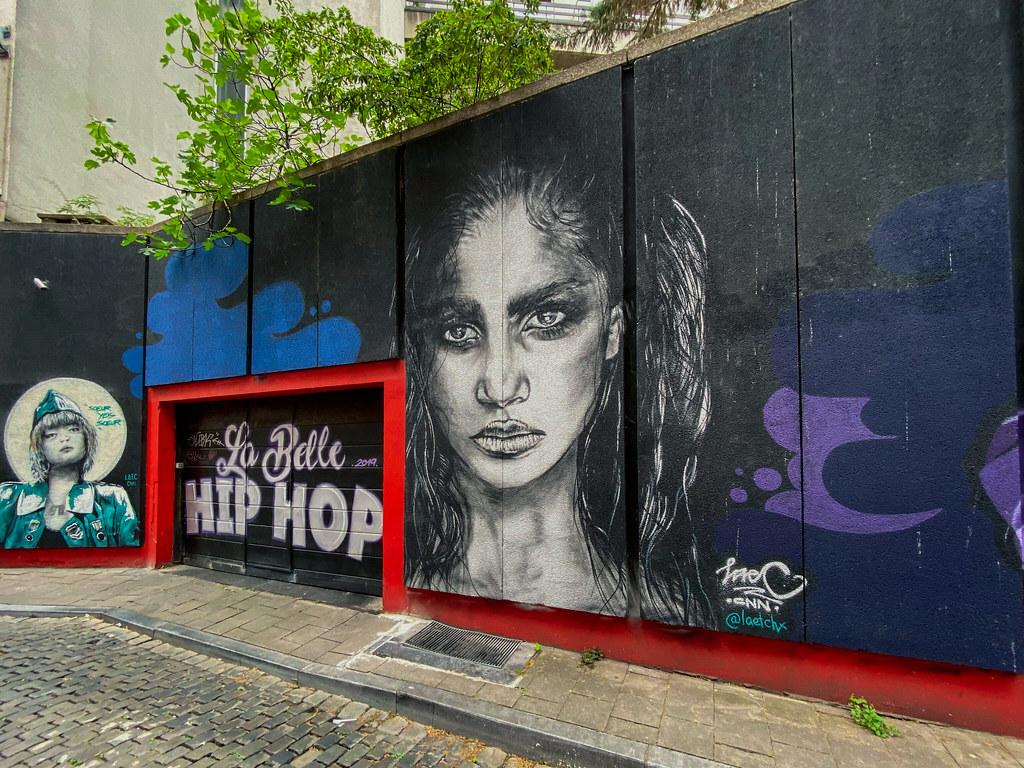 La Belle HiP HOP mural
