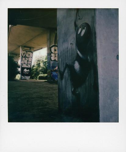 Mr Bee / Graffiti at Neerpede (Brussels)
