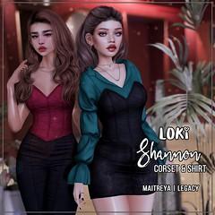 Loki • Shannon Corset&Shirt • Shiny Shabby   December '20