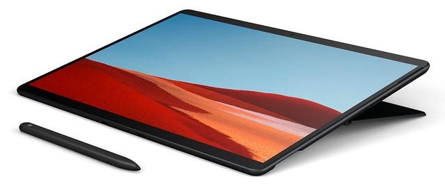 Surface Pro X sous Qualcomm SQ1