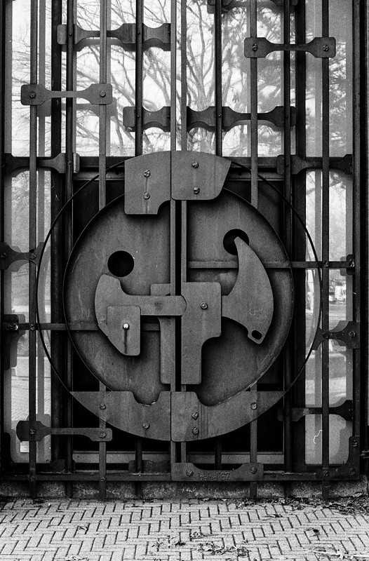 Brutalist Entrance_