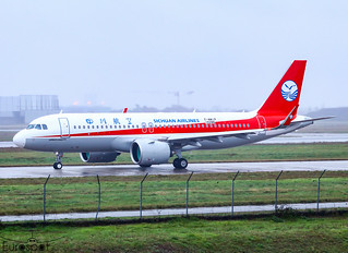 F-WWIP / B-320U Airbus A320-271N Sichuan Airlines s/n 10286 - First flight - * Toulouse Blagnac 2020 *