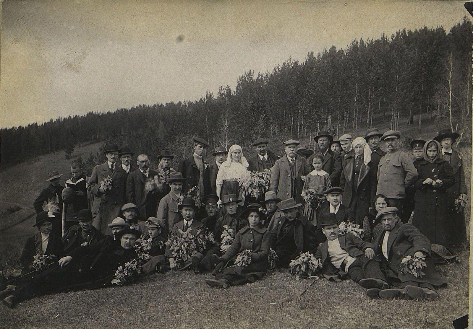 26. Ботаническая экскурсия в окрестности Иркутска