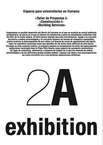 """Exposición """"Espacio para universitarios en Iturrama"""" 2ºGEA"""