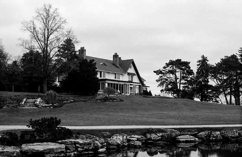 Gairloch Gardens Mansion December Thaw