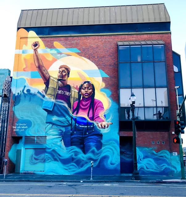 Mural - Oakland, CA