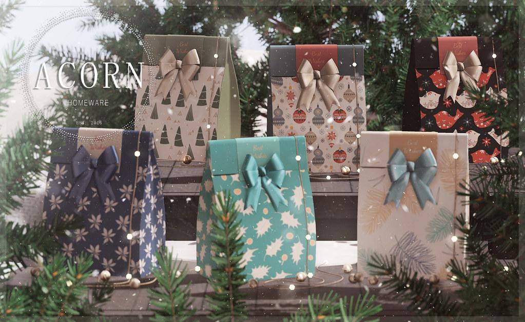 ACORN Christmas Packaging