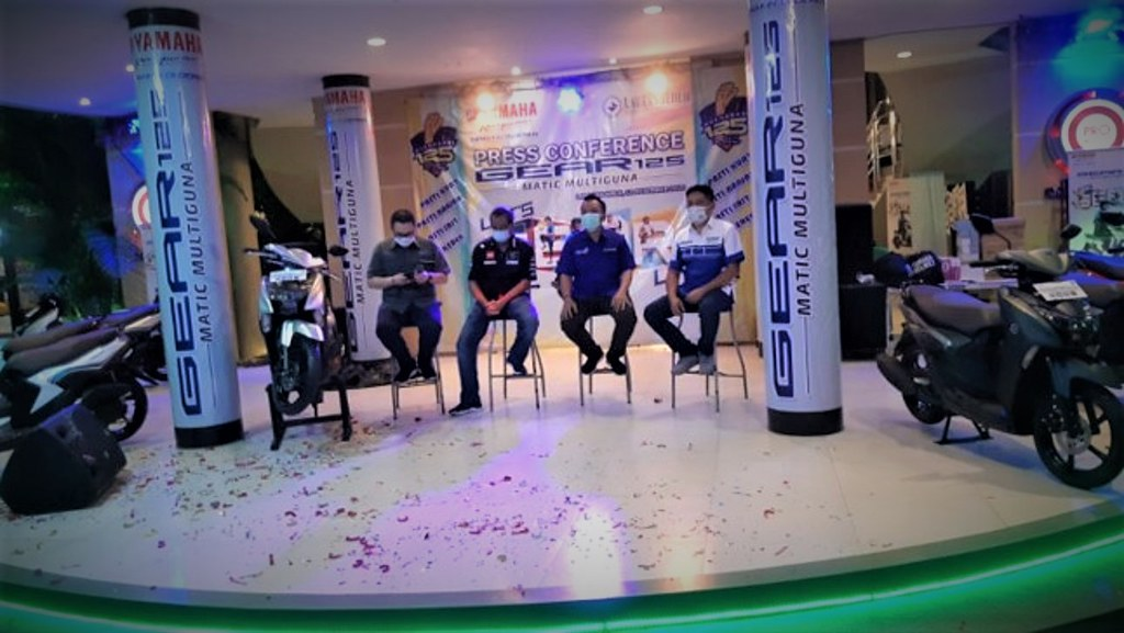 Launching Yamaha GEAR 125 di Lampung