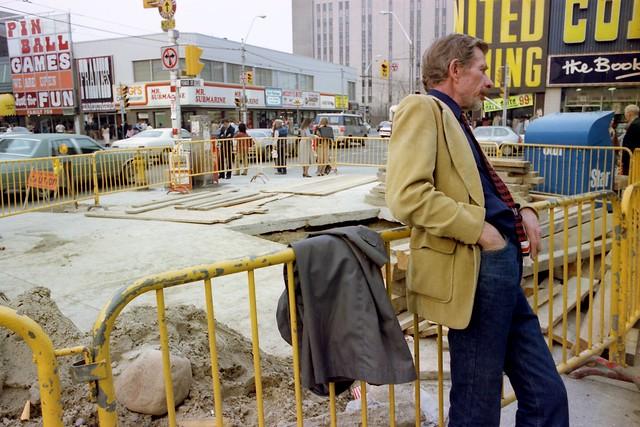 Yonge and Dundas, Toronto,  1982