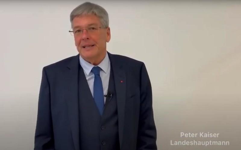 LH Peter KAISER Grußbotschaft