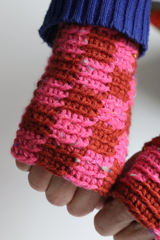 woodwoolstool handmade mittens