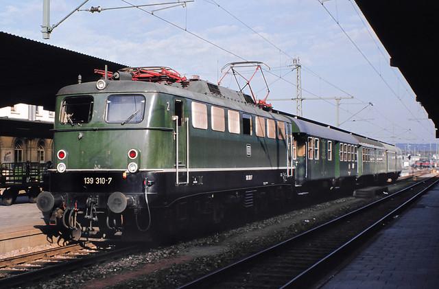 DB 139 310 Bf Singen (Hohentwiel) 06.11.1977