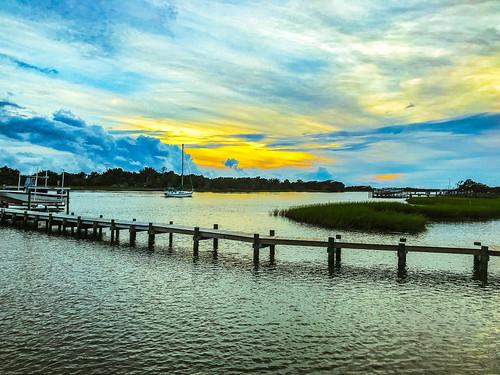 marc714 sunset beaufort nc clouds color