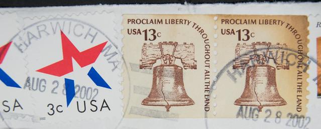USA 13 Cent Liberty Bell