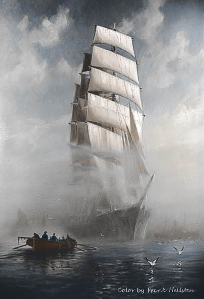Four-masted barque Pamir (1930s)