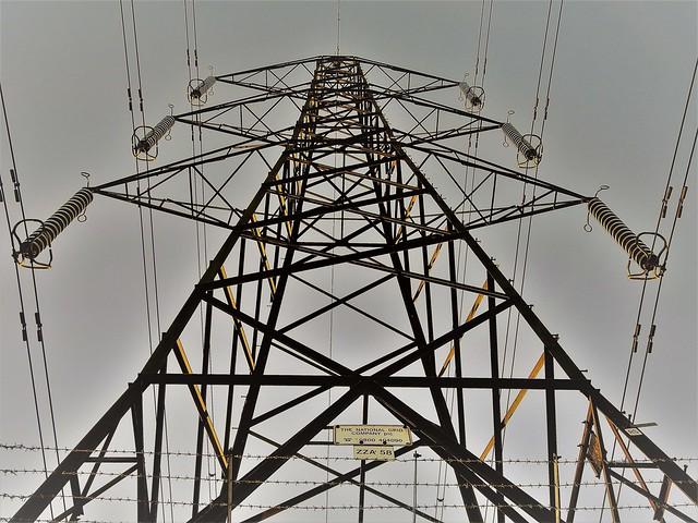 Power Pylon - Dawn Lighting