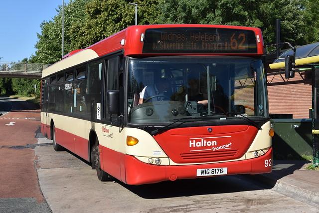 Halton Transport - 92 - MIG8176