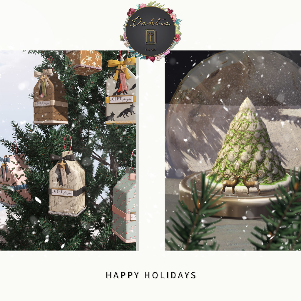 Dahlia - Happy Holidays - last minute gifts!