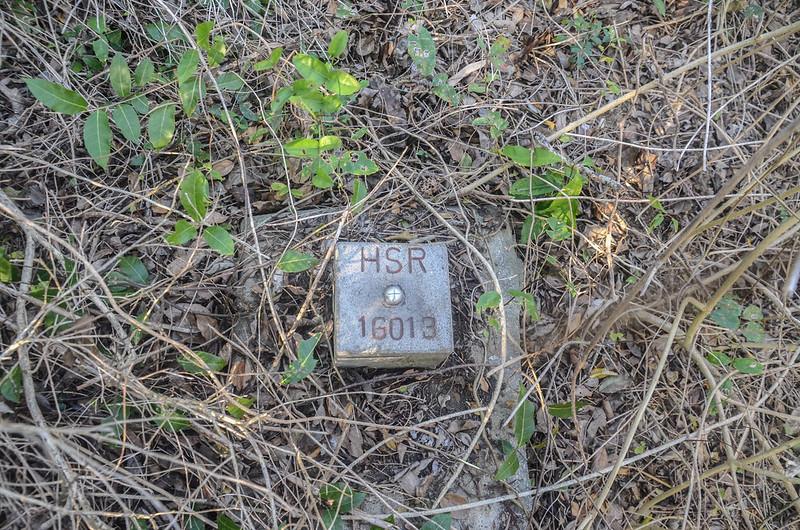 石壁下山高鐵HSD 16013控制點