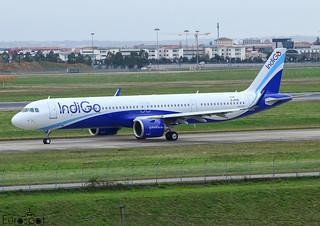 D-AVXG / VT-ILJ Airbus A320-271N Indigo s/n 10168 * Toulouse Blagnac 2020 *
