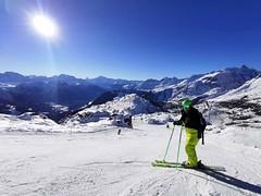 Panoramatické sjezdovky Aletsch Arény