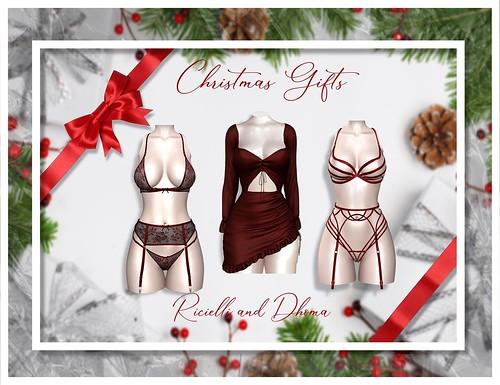 Ricielli & Dhoma Xmas Gifts!