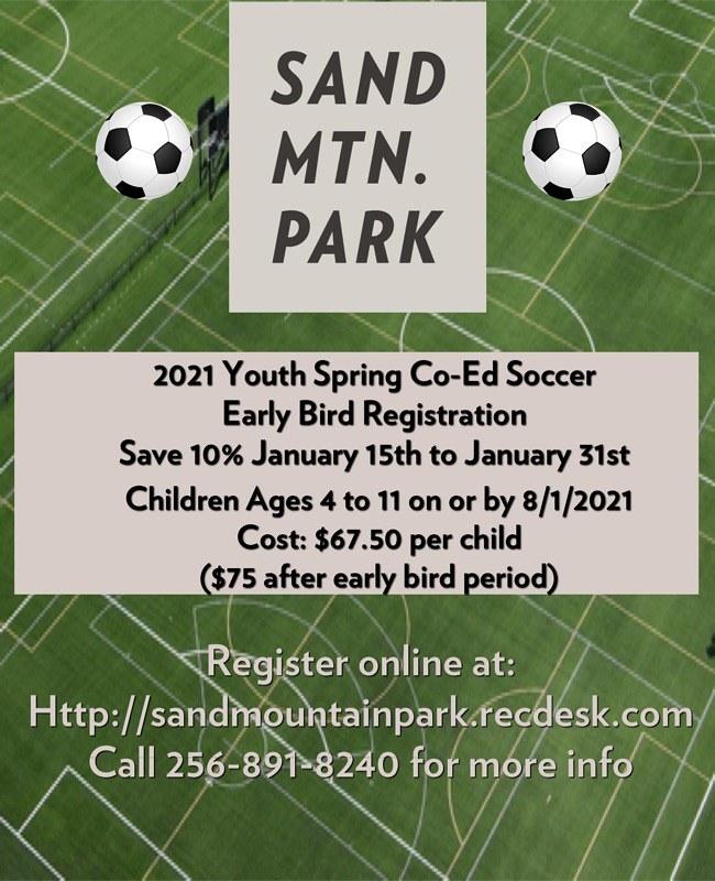 Spring Soccer Flyer 2021 EB