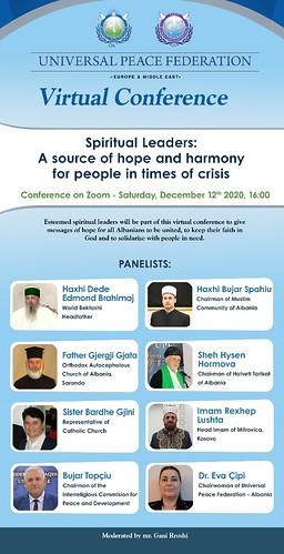 Albania-2020-12-12-Albanian, Kosovan Faith Leaders Offer Hope