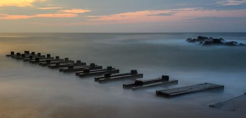 springlake springlakenewersey newjersey jerseyshore beach sunrise dawn longexposure