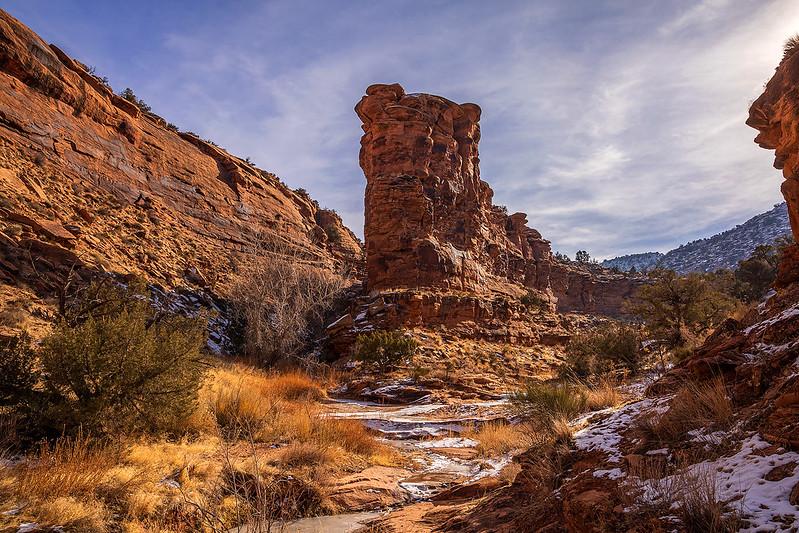 Pole Canyon Split