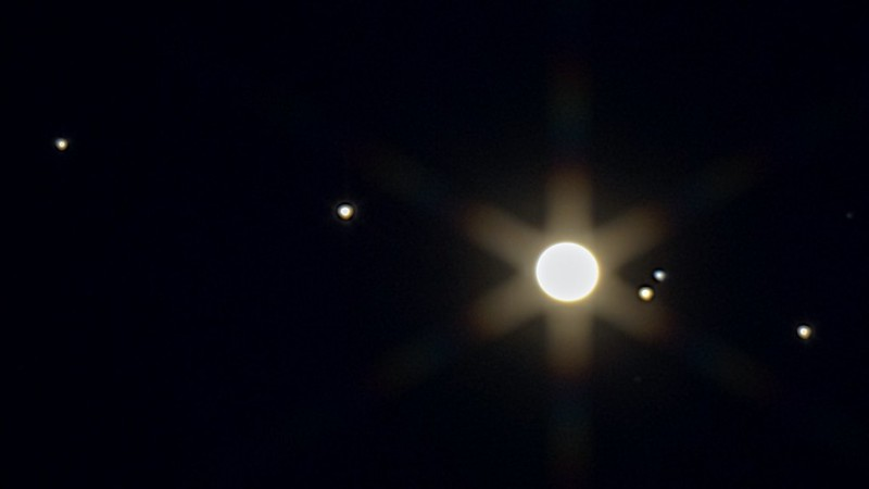 木星と衛星 (2020/12/21 17:31)